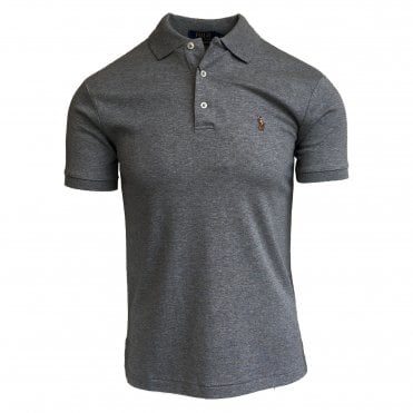 Ralph Lauren Polo Grey Soft-Touch Polo Shirt