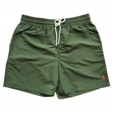 Ralph Lauren Polo Khaki Green Swimming Shorts