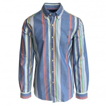 Ralph Lauren Polo Multicolour Stripe Oxford Shirt