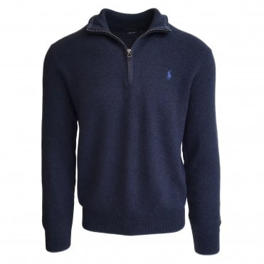 Ralph Lauren Polo Navy 1/4 Zip Jumper