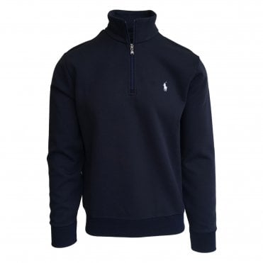 Ralph Lauren Polo Navy Hybrid 1/4 Zip Sweatshirt