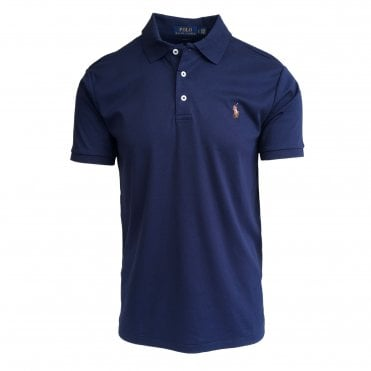 Ralph Lauren Polo Navy Soft-Touch Polo Shirt