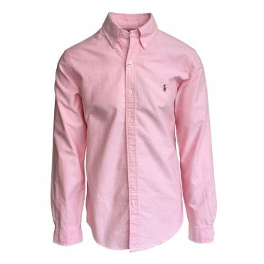 Ralph Lauren Polo Pink Oxford Shirt