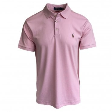 Ralph Lauren Polo Pink Soft-Touch Polo Shirt