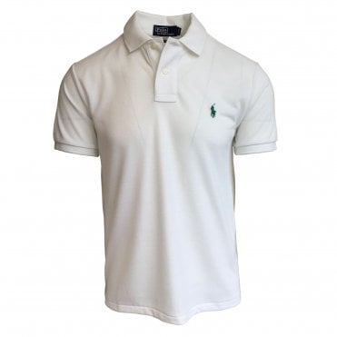 Ralph Lauren Polo White Earth Polo Shirt