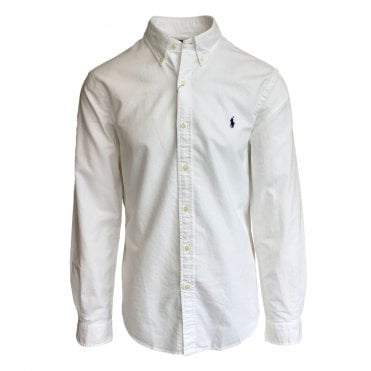 Ralph Lauren Polo White Oxford Shirt