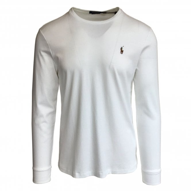 Ralph Lauren Polo White Soft-Touch T-Shirt