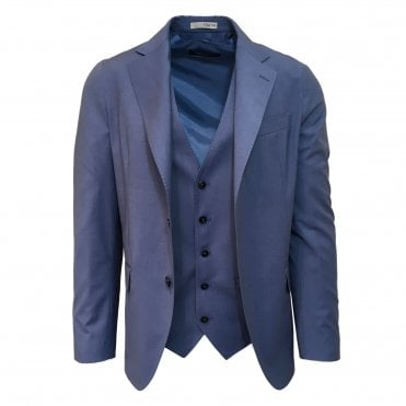 RF Sartori Blue Three Piece Suit