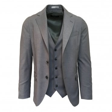 RF Sartori Grey Three Piece Suit