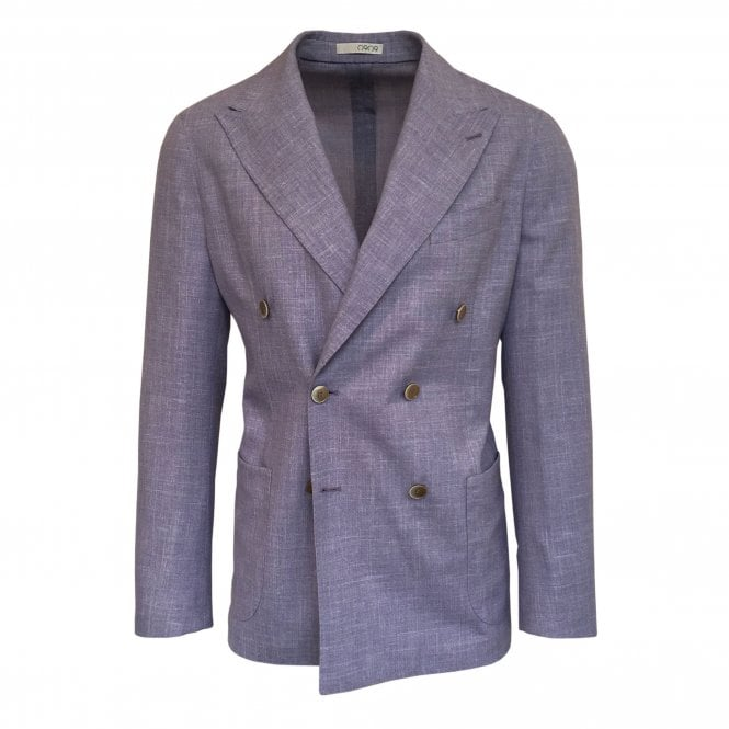 RF Sartori Lilac Double Breasted Jacket