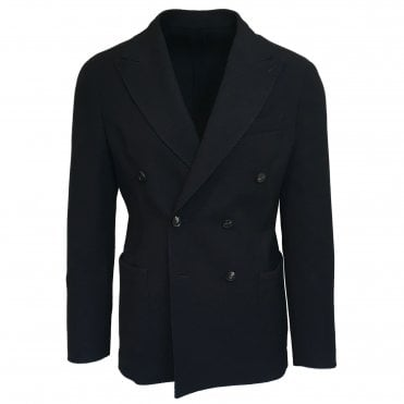 RF Sartori Navy Double Breasted Jacket