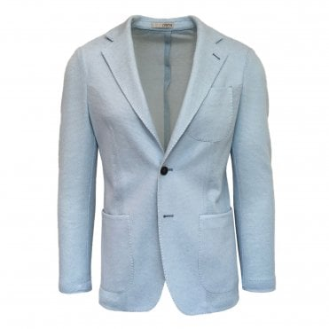 RF Sartori Sky Blue Knitted Jacket