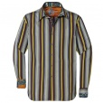 Robert Graham OGDEN Shirt in Brown. RF111084