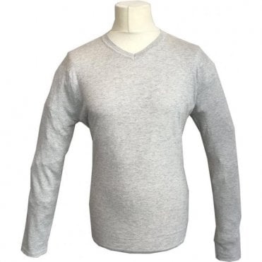 Scotch & Soda Beige V-Neck Knitted Pullover 139783