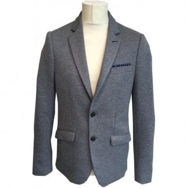 Scotch & Soda Charcoal Grey Sports Jacket 139395