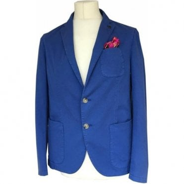Scotch & Soda Cobalt Blue Suit Jacket 1130759