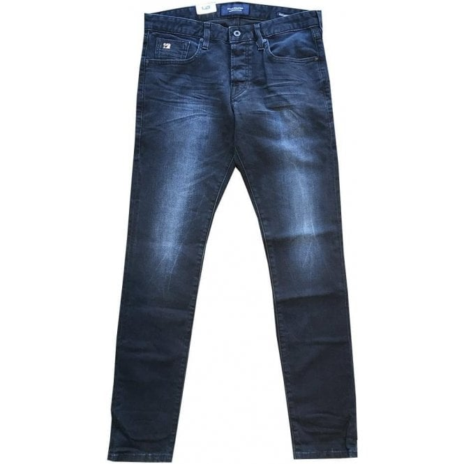 Scotch & Soda 'From Blue To Black' Skim Skinny Fit Dark Blue Jeans 141187