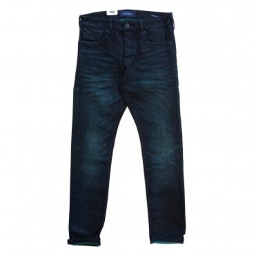 Scotch & Soda Green/Blue Ralston Jeans