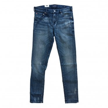 Scotch & Soda Light Blue Wash Skim Jeans