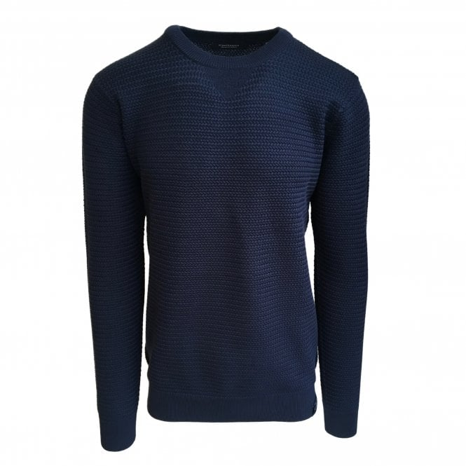 Scotch & Soda Navy Crewneck Jumper