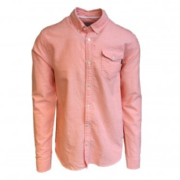 Scotch & Soda Pink Oxford Shirt