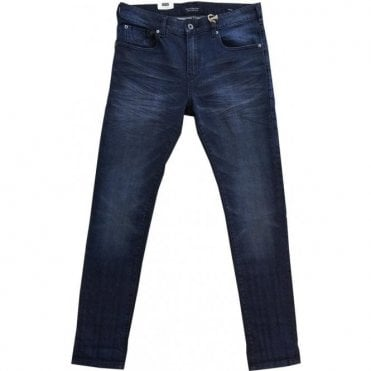 Scotch & Soda SKIM Skinny Fit 'Blue Bath' Denim Jeans 137600