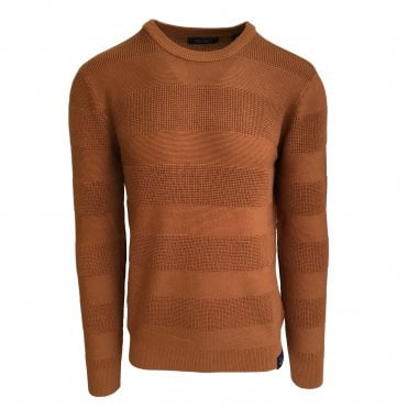 Scotch & Soda Tan Crewneck Jumper