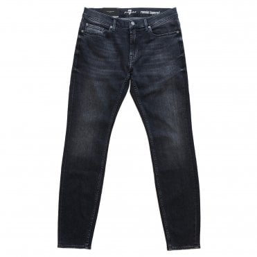 Seven For All Mankind Ronnie Tapered Dark Grey Jeans