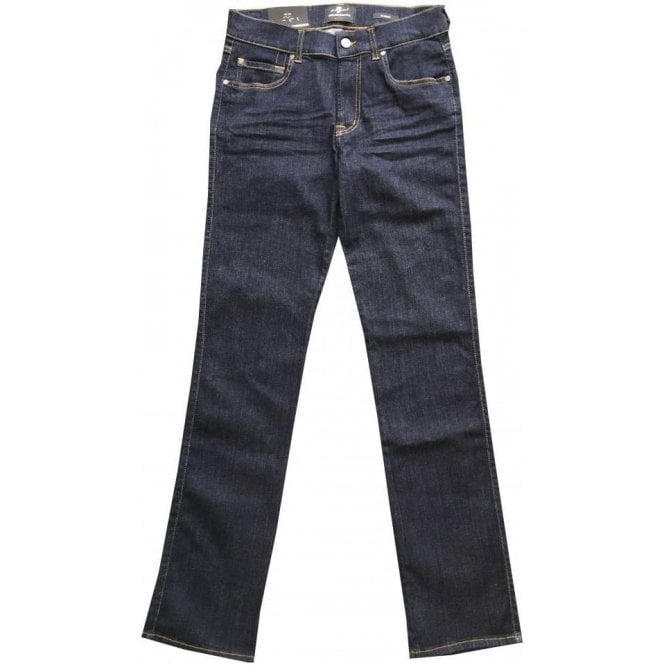 Seven For All Mankind Slimmy Luxe Performance Plus Dark Denim Jeans SMSR64FAS