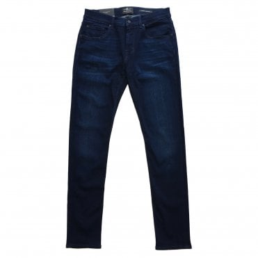 Seven For All Mankind Slimmy Tapered Dark Wash LuxPer+ Jeans