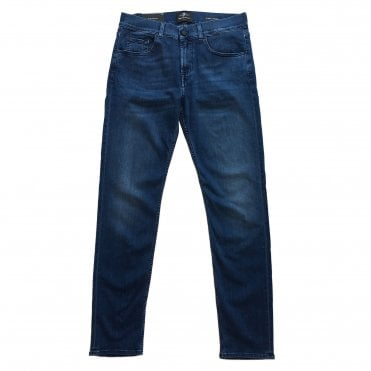 Seven For All Mankind Slimmy Tapered Mid Wash LuxPer+ Jeans
