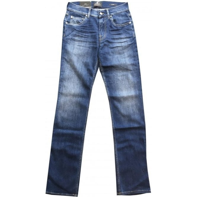 Seven For All Mankind Slimmy The Slim Luxe Performance Plus Stretch Denim Jeans SMSU460VU