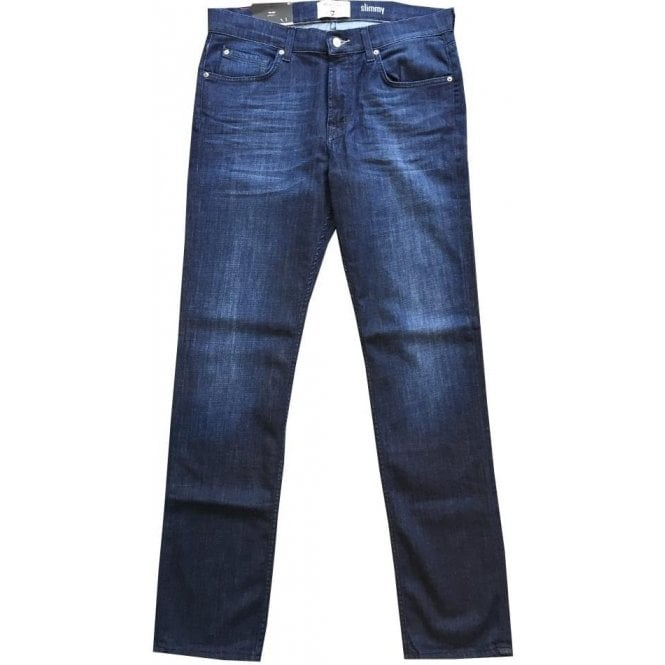 Seven For All Mankind Slimmy Weightless Denim Stretch Fabric Jeans. ba3fe390d