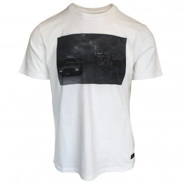 Seven For All Mankind White T-Shirt with Print on chest