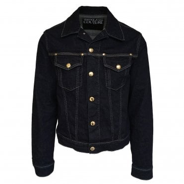 Versace Jeans Couture Dark Wash Denim Jacket