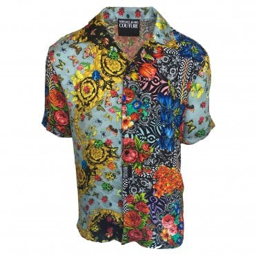 Versace Jeans Couture 'Ladybug Baroque' Print Shirt