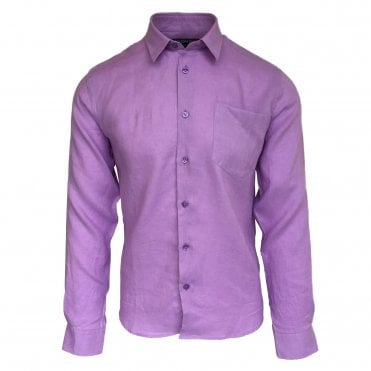 Vilebrequin Purple Linen Shirt