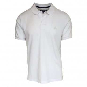 Vilebrequin White Cotton Polo Shirt